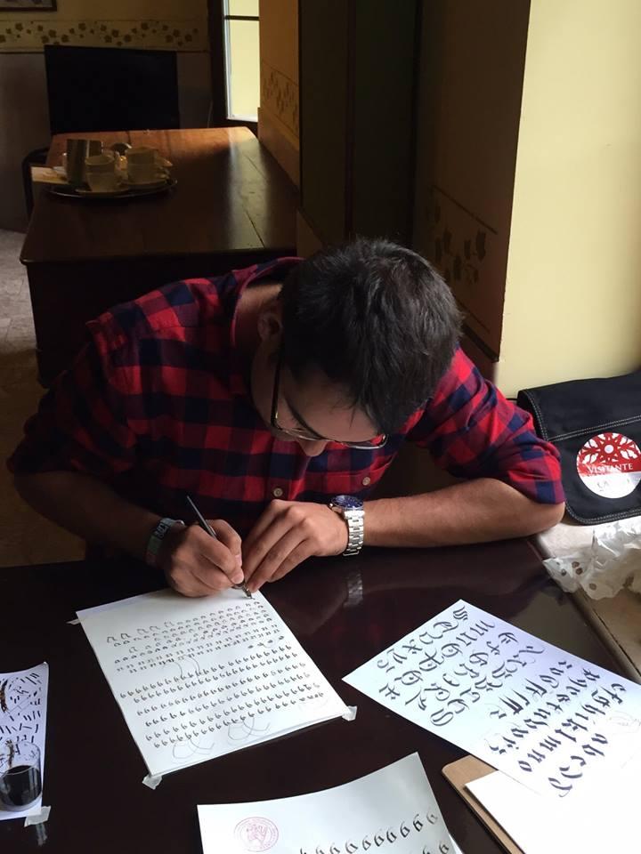 El joven escribano